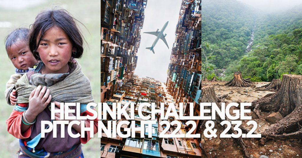 helsinki challenge pitch night uutiskirje