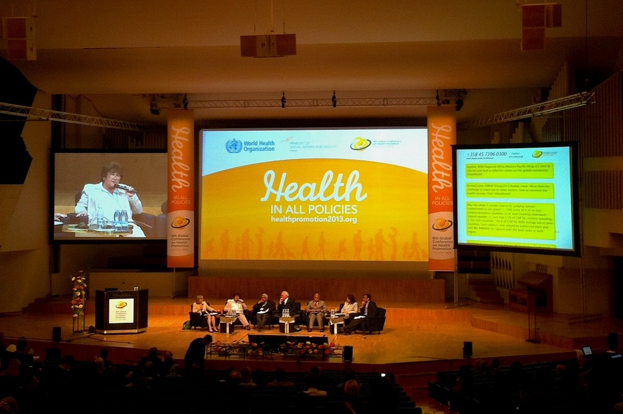 who terveyden edistämisen periaatteet Imatra