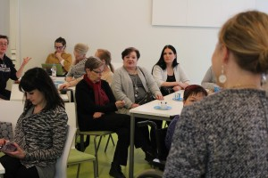 One of the testing sessions was organized in Kalasatama, Helsinki.
